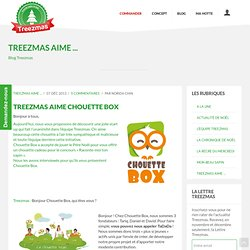 Treezmas aime Chouette Box