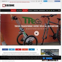 TReGo, transforme votre vélo en triporteur