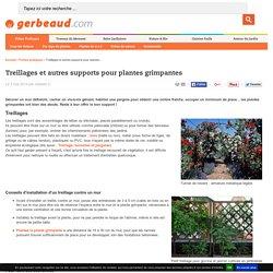 Treillages et palissages pour plantes grimpantes
