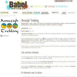Amazigh Trekking - Association de tourisme solidaire au Maroc