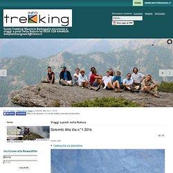 Guida Trekking Maurizio Barbagallo - Dolomiti: Alta Via n°1 2014