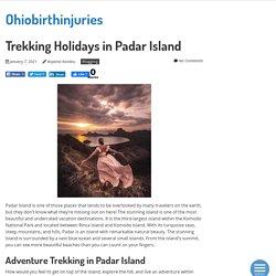Trekking Holidays in Padar Island