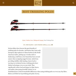 Best Trekking Poles of 2015