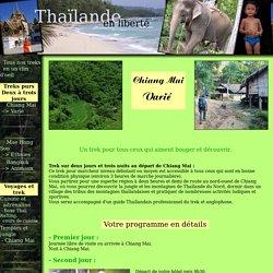 Trekking en Thailande : Région de Chiang Mai