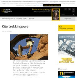 Kije trekkingowe - Adventure - Traveler - default - National Geographic