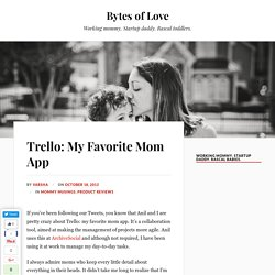 Trello: My Favorite Mom App - Bytes of Love