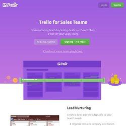 Trello for Sales Teams