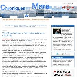 Tremblement de terre: scénario catastrophe sur la Côte d'Azur