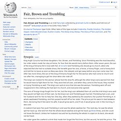 Fair, Brown and Trembling - Wikipedia, the free encyclopedia