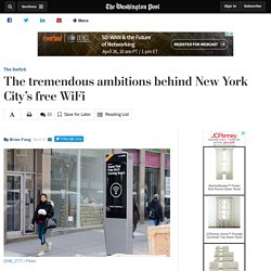 The tremendous ambitions behind New York City's free WiFi