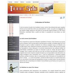 www.tremintin.com - L'éducateur et l'écriture