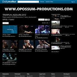 TREMPLIN JAZZ(s)RA 2012 - Une playlist