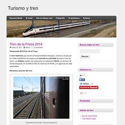 Tren de la Fresa 2012. Fechas de salida temporada