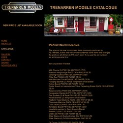Trenarren Models Catalogue