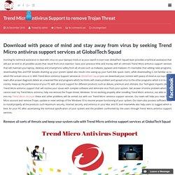 Trend Micro Antivirus Support USA