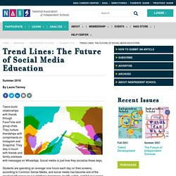 Trend Lines: The Future of Social Media Education