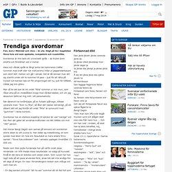 Trendiga svordomar - Sverige