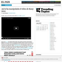 Trending Topics >> Delia Rodríguez en Blogs EL PAÍS