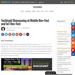 3 Trends in Mobile App Development and Testing