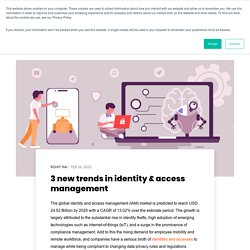 3 new trends in identity & access management