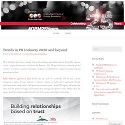 Benefits of Choosing Best PR Agency in India - Genesis BCW - Top PR Agency in India