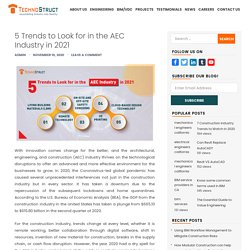 5 Trends to Look for in the AEC Industry in 2021