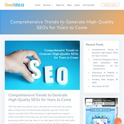 SEO Trends for 2020 to Rank Your Website at Top - Invoidea Technologies