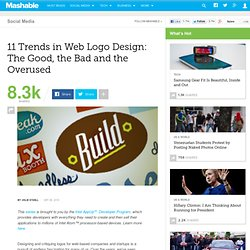 11 Trends in Web Logo Design: The Good, the Bad and the Overused