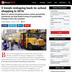 5 trends reshaping back-to-school shopping in 2016