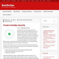 Trends in DevOps: Security – BestDevOps