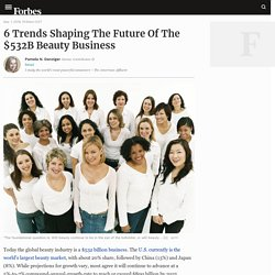 6 Trends Shaping The Future Of The $532B Beauty Business