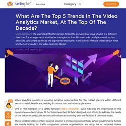 What are the Top 5 Trends in the Video Analytics Market
