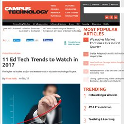 11 Ed Tech Trends to Watch in 2017