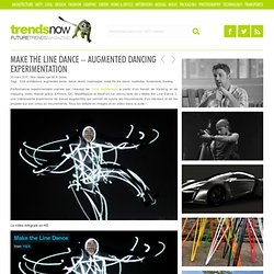 Make the Line Dance – Augmented dancing experimentation