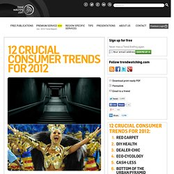 s 12 Consumer Trends for 2012