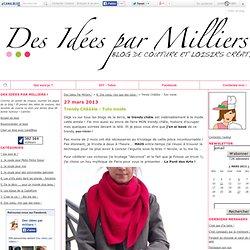 Trendy Châââle - Tuto inside - Des Idées Par Milliers !