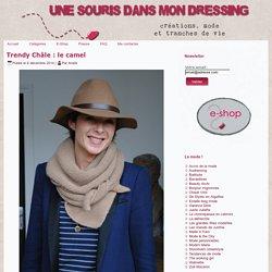 Trendy Châle : le camel