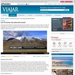 Los 10 trenes más altos del mundo - Quinghai-Tibet (China)