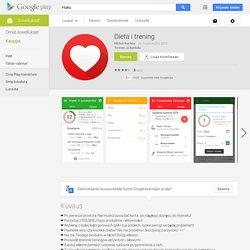 Dieta i trening – Android-sovellukset Google Playssa