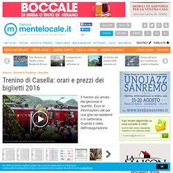 Trenino di Casella: orari e prezzi dei biglietti 2016