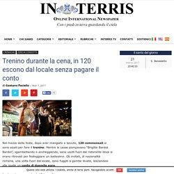 Trenino durante la cena, in 120 escono dal locale senza pagare il conto - In Terris - News on line