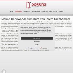 Mobile Trennwändefürs Büro von Ihrem Fachhändler