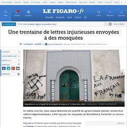 Une trentaine de lettres injurieuses envoyées à des mosquées