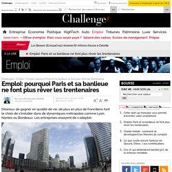 Emploi: pourquoi Paris et sa banlieue ne font plus rêver les trentenaires