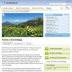 Trento e Val d'Adige - Trentino - Provincia di Trento