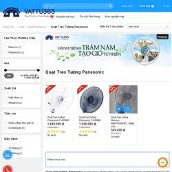 Quạt treo tường Panasonic giá rẻ, chính hãng 100% - Vật Tư 365