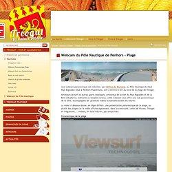 Tréogat - webcam du Pôle Nautique de Penhors panoramique