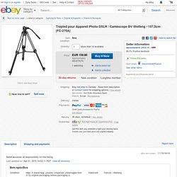 Trépied Pour Appareil Photo DSLR Caméscope DV Weifeng 157 5cm FC 270A