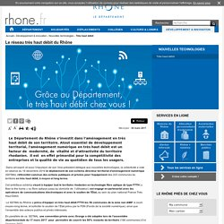 Rhône - Très haut débit