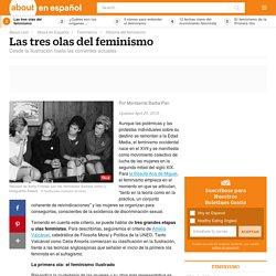 Las tres olas del movimiento feminista